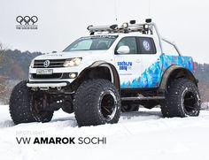 VW Amarok Sochi.Ru issue | Volkswagen Polar Expedition Amarok - Gear Patrol Review