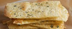 Flat Bread or Flat Bread Crackers - A delicious cracker, that is a good alternative to packaged snack crackers.