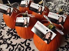 away at my October open houses! Jim Pellerin MoreMini-pumpkins to give away at my October open houses! Jim Pelleringive away at my October open houses! Real Estate Gifts, Real Estate Quotes, Real Estate Career, Real Estate Business Cards, Selling Real Estate, Real Estate Advertising, Real Estate Marketing, Open House Gifts, Realtor Gifts