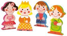 Funny Magnet Dolls - Piccolini NYC