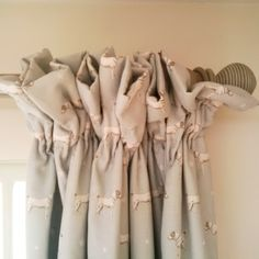 Glorious Make Rod Pocket Curtains Ideas. Enchanting Make Rod Pocket Curtains Ideas. No Sew Curtains, Pleated Curtains, Rod Pocket Curtains, Curtains With Blinds, White Curtains, Window Coverings, Window Treatments, Country Style Curtains, Cottage Curtains