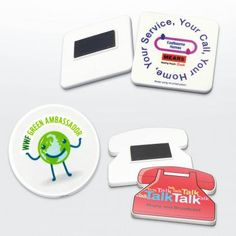 Recycled Fridge Magnet 45mm, Square or round