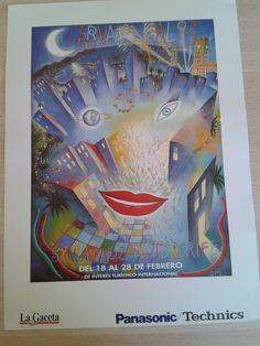 Cartel del Carnaval de Santa Cruz de Tenerife, año 1993