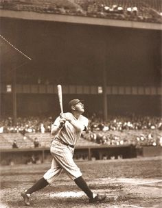 Babe Ruth, the most iconic baseball player to ever play the game. Baseball is truly an American sport and is one of America's most loved passed times.
