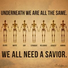 We all need Jesus. #Jesus #Savior