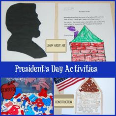 Preschool Patriotic Activities for President's Day! | The Preschool Toolbox Blog