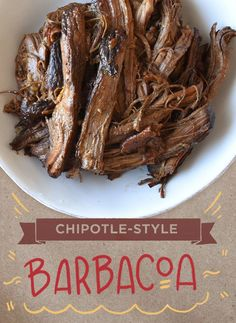 BARBACOA | How to Make Everything You Love on The Chipotle Menu