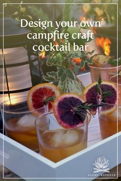 Specialty cocktails are the perfect way to elevate your outdoor hang. We've put togeter a variety of cocktail flavor inspirations, perfect for sipping around the campfire. Try these with dried herbs, aromatics and your spirit of choice. Cocktail Flavor Ideas: Juniper + Tangerine Gin Fizz Toasted Coconut + Lime Spiced Rum Smoky Pineapple + Vanilla Bean Mezcal Gin Fizz, Spiced Rum, Craft Cocktails, Toasted Coconut, Drying Herbs, Wyoming, Glamping, Pineapple, Vanilla