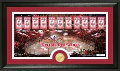 """AAA Sports Memorabilia LLC - Detroit Red Wings """"Tradition"""" Minted Coin Pano Photo Mint, #detroitredwings #redwings #nhl #nhlcollectibles #sportscollectibles $59.99 (http://www.aaasportsmemorabilia.com/nhl/detroit-red-wings-tradition-minted-coin-pano-photo-mint/)"""
