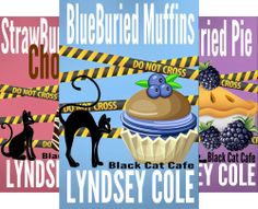 Black Cat Cafe Cozy Mystery Series (5 Book Series) by  Lyndsey Cole