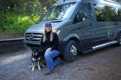 12 Tips for Women Traveling Solo in an RV.  Actually, good tips for anyone. I love her Roadtrek - small enough to park anywhere, with ALL the amenities!  Really!