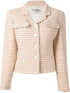 Chanel Vintage Tweed Jacket - Dressing Factory - Farfetch.com
