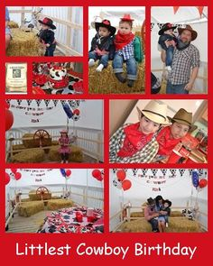 1st Birthday Cowboy Party