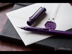 Lamy Safari Fountain Pen - Dark Lilac, Extra-Fine (Special Edition)