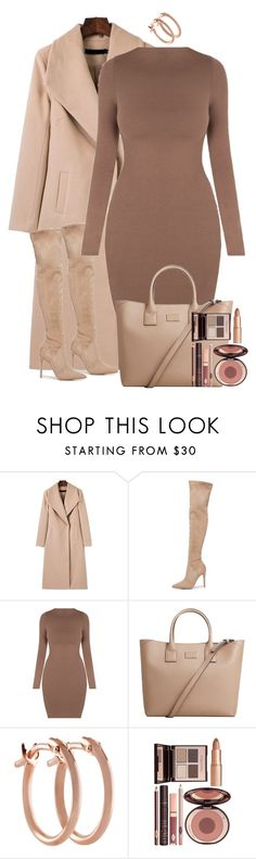 """Winter dress under $100"" by blacknwhitmay ❤ liked on Polyvore featuring Kendall + Kylie, MANGO, Pori, Charlotte Tilbury, Winter and under100"
