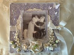 Vintage springs box and card