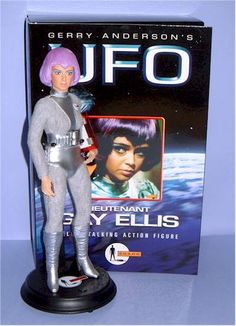 Lt. Ellis (UFO) action figure - Another Pop Culture Review by Michael Crawford, Captain Toy