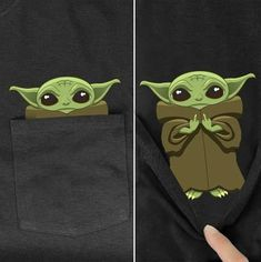 Baby Yoda In Middle Finger Funny Black Pocket T Shirt S-6Xl - LibeTee Funny Movie Memes, Yoda T Shirt, Baby Shower Niño, Valentine T Shirts, Online Gifts, Stars And Moon, New Baby Products, Pocket, Dark Fashion