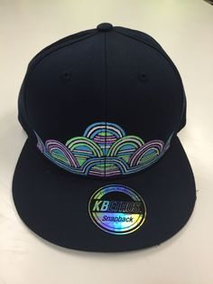 One Of A Kind Navy Blue TUBE SnapBack Hat, Phish, Disco Biscuits, Bassnectar  | eBay