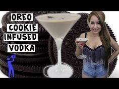 ▶ How to make Oreo Cookie Infused Vodka - Tipsy Bartender - YouTube