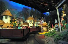 Munchkinland from the Wizard of Oz Scene at The Great Movie Ride at Disney's Hollywood Studios, Walt Disney World, FL, Photo by wdwSteve