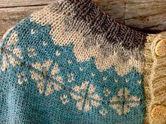 Ravelry: Cardigan Ariel/ Koftan Ariel pattern by Veronika Lindberg Knitting Stitches, Knitting Patterns Free, Free Knitting, Knitting Projects, Knitting Ideas, Needle And Thread, Crochet, Color Patterns, Sweater Cardigan