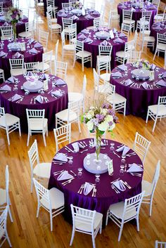 ↗️ 84 Awesome Purple Wedding theme Ideas : the Best Ways to Use Purple as the theme Of Your Wedding 6570 weddingthemes weddingdecor 770889661201199774 Wedding Reception Decorations, Wedding Themes, Wedding Theme Purple, Purple Table Decorations, Purple Wedding Centerpieces, Purple Wedding Receptions, Purple Wedding Dresses, Purple Winter Weddings, Pink Black Weddings