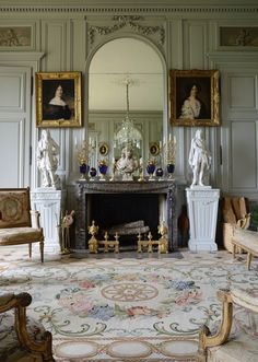 Classical French interior