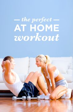 No equipment, no worry! Try these at home workouts to keep you shape!