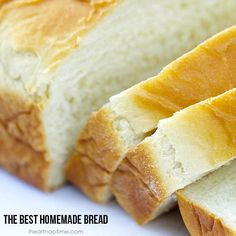 The Best Homemade Bread - My Honeys Place