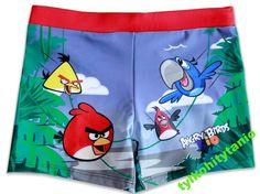 Angry Birds Rio 98/104 cm kąpielówki 3 lata NOWE