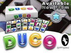 DuCo - The Pattern-Matching Game For The Entire Family by Game Salute — Kickstarter