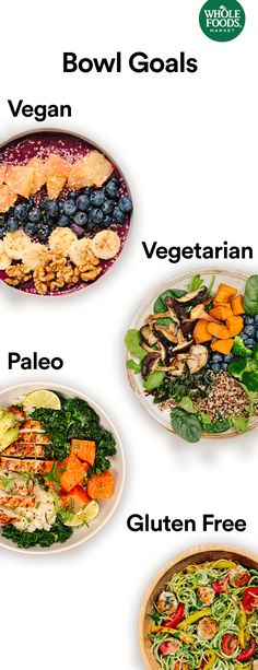 Everything tastes better in a bowl. Whether you're on a palo, vegan, vegetarian, or gluten-free diet, or just. Healthy Low Carb Recipes, Healthy Crockpot Recipes, Paleo Recipes, Whole Food Recipes, Paleo Food, Healthy Nutrition, Paleo Diet, Healthy Food, Clean Eating