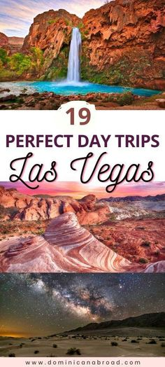 Las Vegas has a so of amazing places to visit nearby, so if you're on the lookout for a perfect getaway from Las Vegas or even just a fun day trip from Vegas, here are some of the best places to visit near Las Vegas that you must check out! #Vegas #USA #destinations #outdoors #USAtravel #roadtrip Road Trip Packing, Road Trip Essentials, Road Trip Hacks, Spring Mountain Ranch, Boulder City, Cedar City, Lake Havasu City, Road Trip Destinations, Death Valley National Park