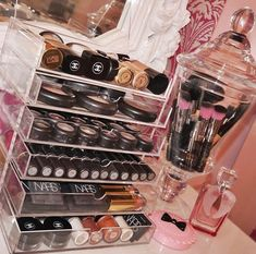 Makeup storage - I don't have this much but it's better than having it all in a draw and you forget what you have