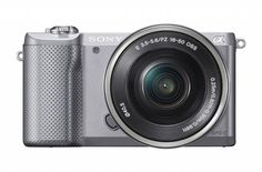 Sony a5000 Interchangeable Lens Camera Unveiled [CES 2014] | GIZCRUNCH