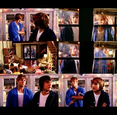 Beaver: They just mooned us.    Cappie: Yeah, everyone but Rusty. He just showed us his underpants.