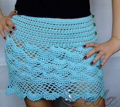 Fun Crochet Skirt By Ella – Sweet!