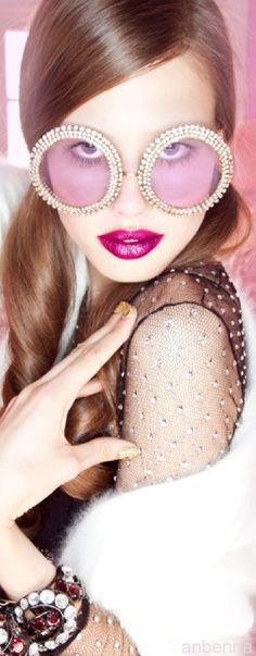 Marie Claire China shot by Amber Gray for Mercura Sunglasses -pin courtesy of anbenna