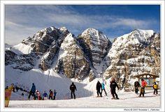 Stubai Glacier in Tyrol, Austria  Summer skiing