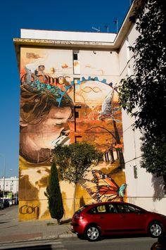 STREET ART UTOPIA »Nous déclarons au monde que notre canvasEl niño de las pinturas - Une Collection» STREET ART UTOPIA