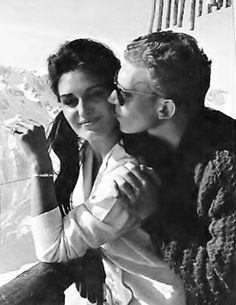 Dalida et Lucien Morisse