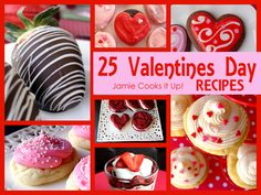 20 Valentines Day Recipe from Jamie Cooks It Up!