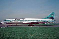 Lux Air  | Description Luxair Caravelle in 1968