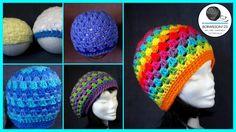 Crochet Granny Stitch Hat Large Preemie / Newborn Tutorial