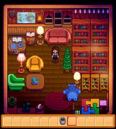 Stardew Valley Library Shed Design Al