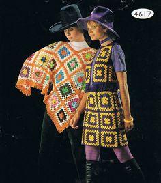 Je suis comblée le poncho, la jupe et le boléro ! Pour les couleurs on repassera ! Je vous dis qu'on peut lancer la mode