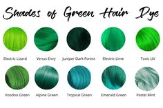 Best Green Hair Dye:  15 Permanent & Temporary Dyes for 2021
