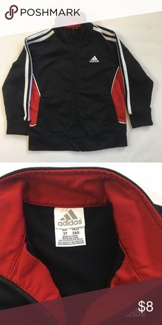 Boys Adidas Athletic Jacket Great preowned condition. No pilling, stains, snags etc. Adidas Jackets & Coats
