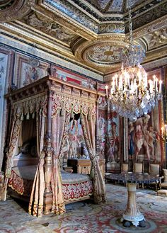 Bedroom?: Chateau de Fontainebleau , France